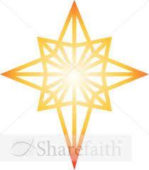 Bethlehem clipart cute. Star silhouette clip art