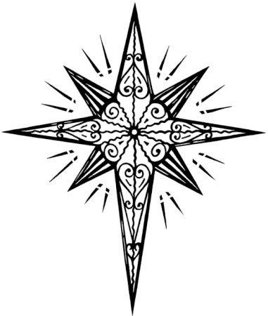 Star of google search. Bethlehem clipart drawing