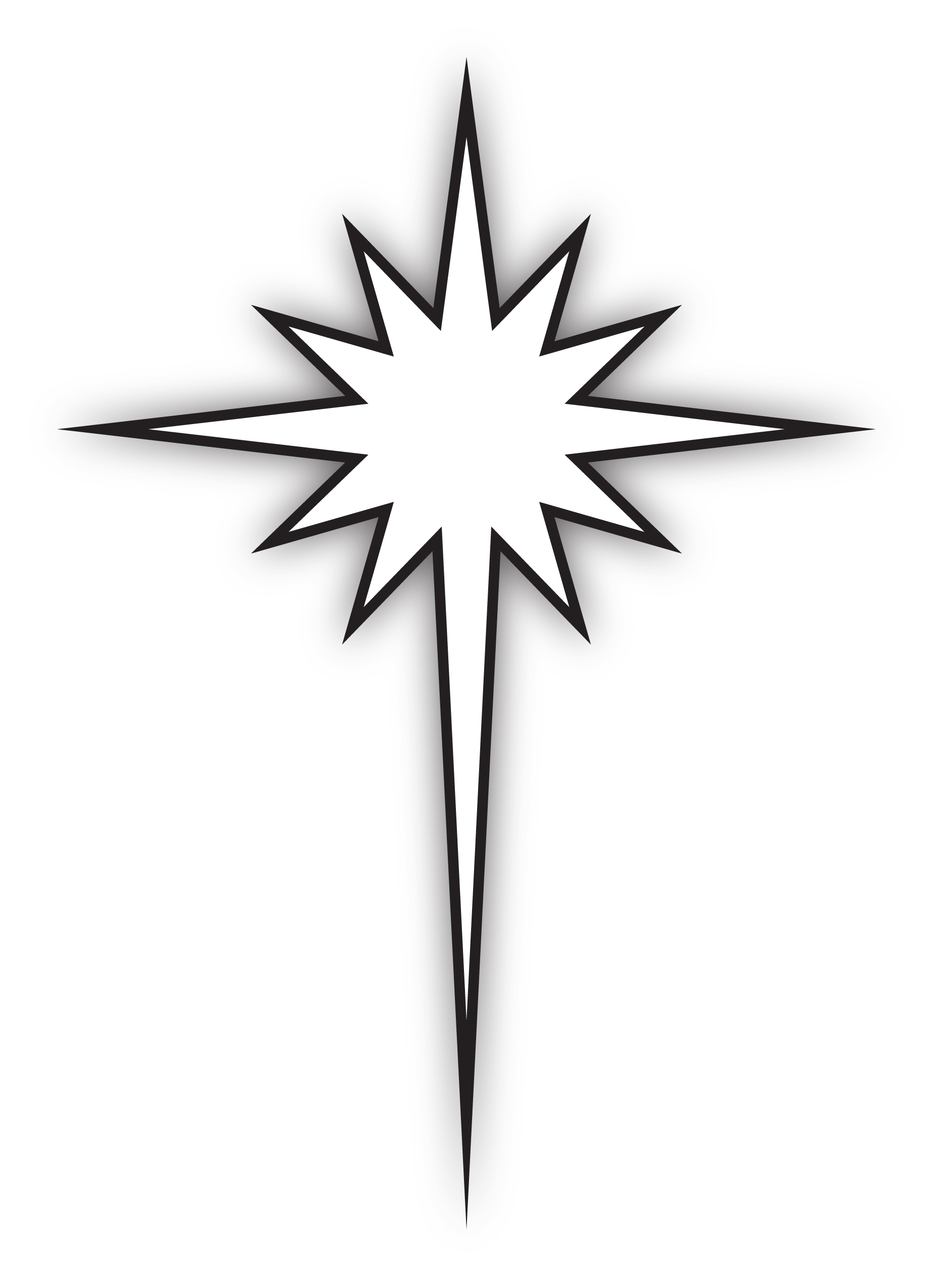 Best of star collection. Bethlehem clipart drawing