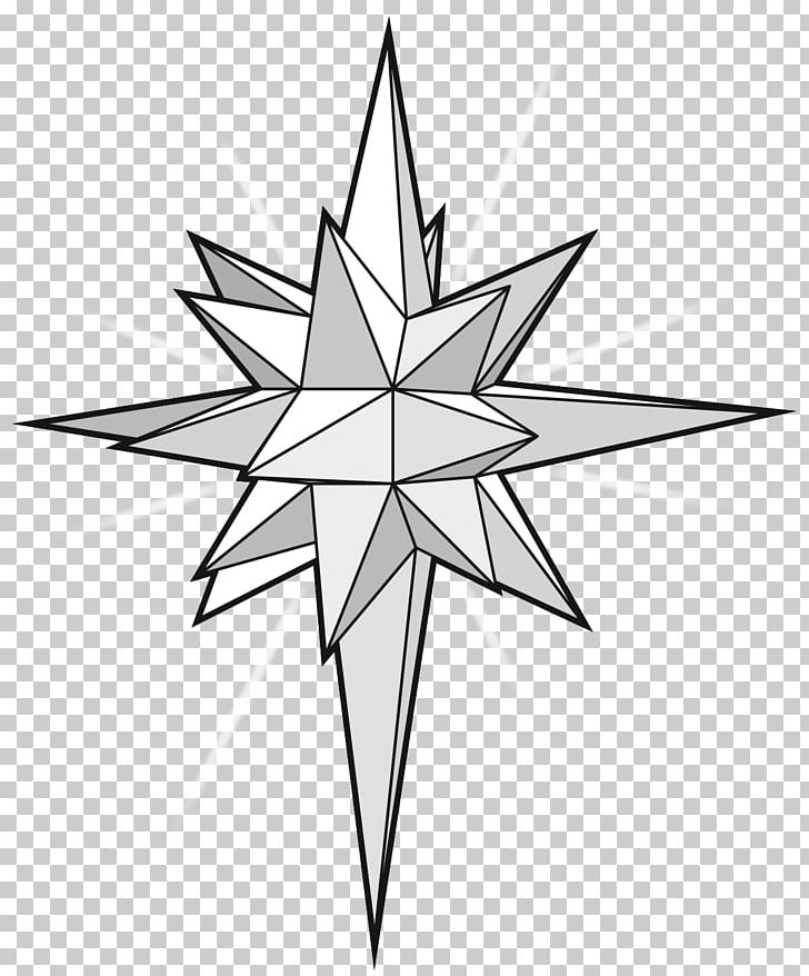 Star of paper png. Bethlehem clipart drawing
