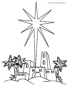 Bethlehem clipart drawing. Star of at paintingvalley