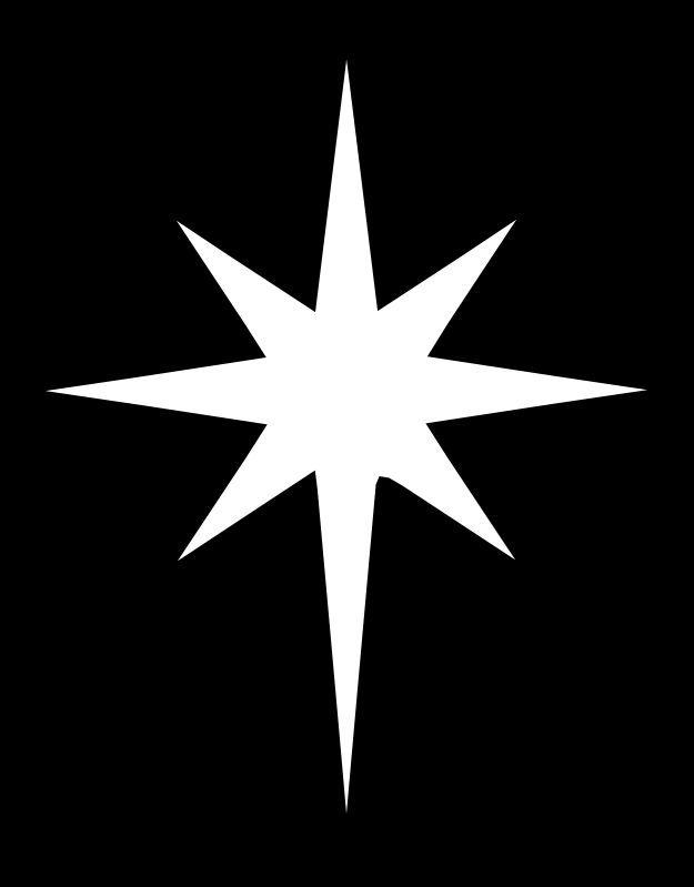 Christian clipart star. Bethlehem images kid wood