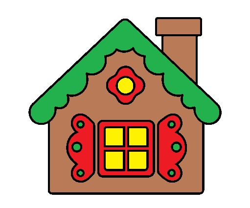 Gingerbread house advent event. Bethlehem clipart houses