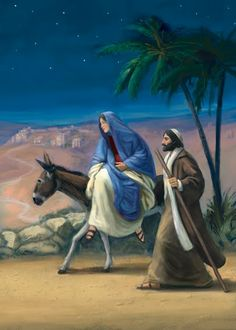 Mary and stop to. Bethlehem clipart joseph trip