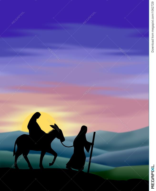 Bethlehem clipart journey. To illustration megapixl