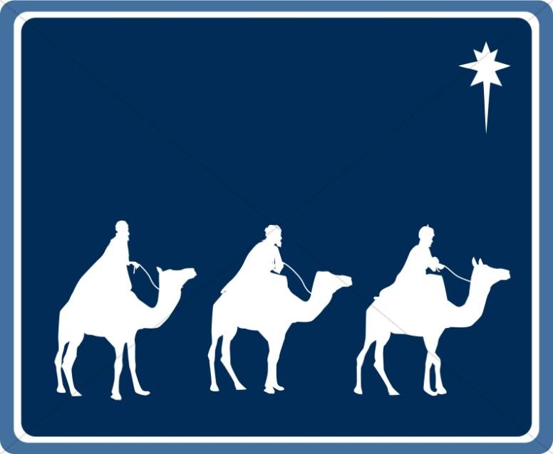 Wisemen s epiphany wisemens. Bethlehem clipart journey