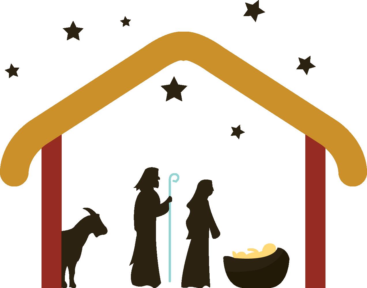 Bethlehem clipart manger bethlehem. Holy family nativity scene