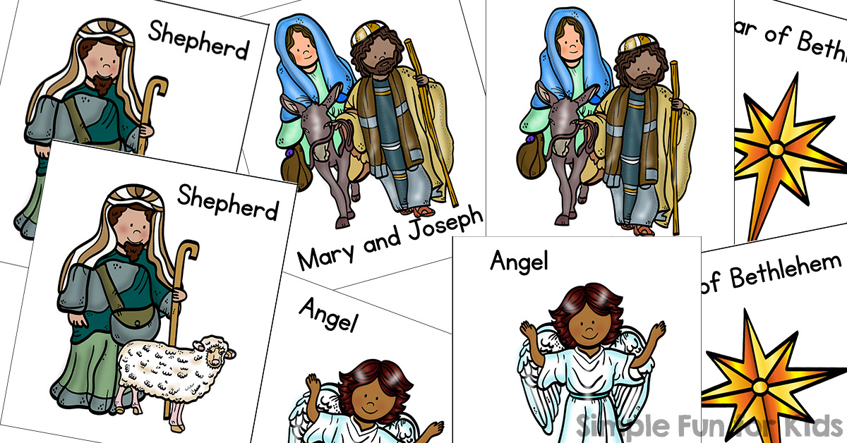 Day matching game for. Bethlehem clipart nativity story