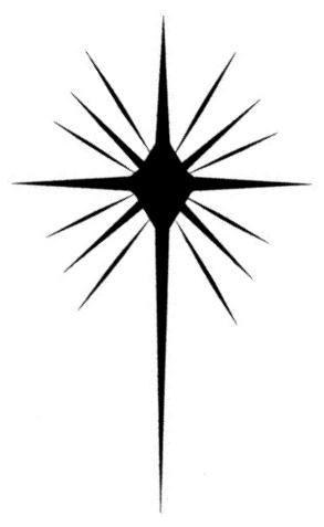 Christmas Clip Art North Star.Bethlehem Clipart North Star Bethlehem North Star