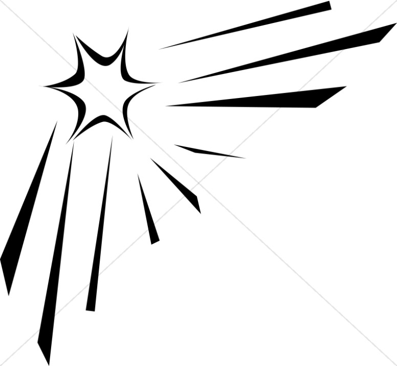 Bethlehem clipart outline. Star silhouette at getdrawings