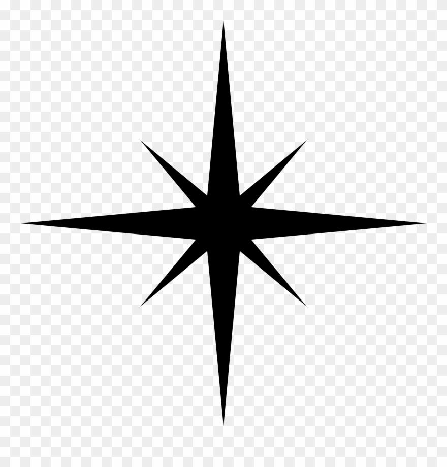 Bethlehem clipart outline. Star over svg transparent