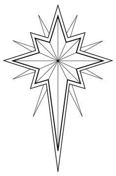 Bethlehem clipart outline. Christian symbol black line