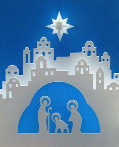 Clip art and stock. Bethlehem clipart scene