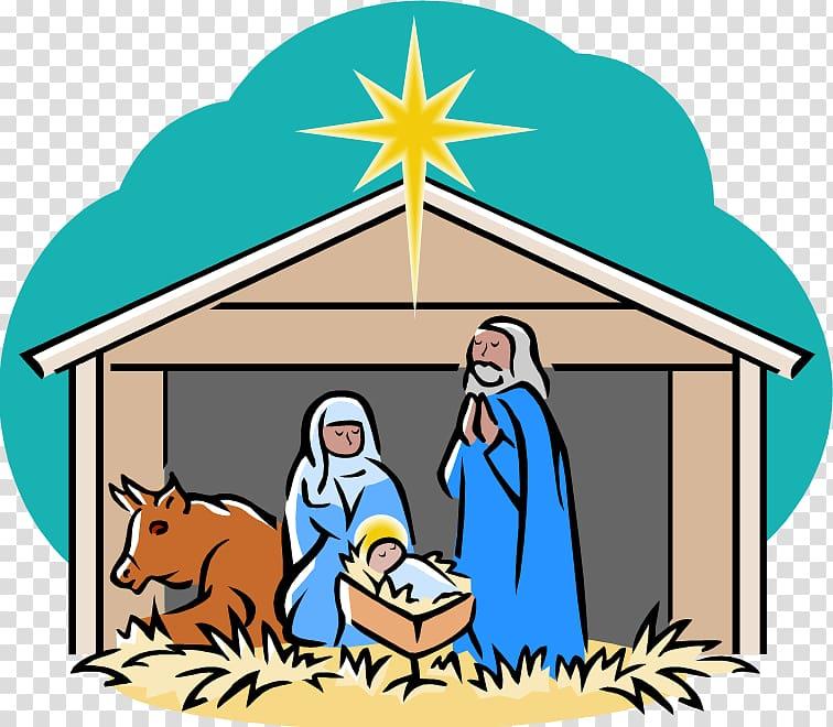 Bethlehem clipart scene. Nativity of jesus manger
