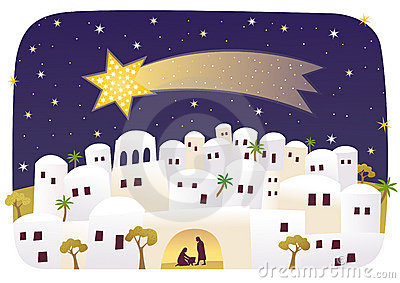 collection of town. Bethlehem clipart scenery