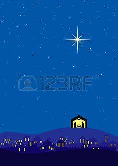 Bethlehem clipart scenery. Img cantata pinterest set