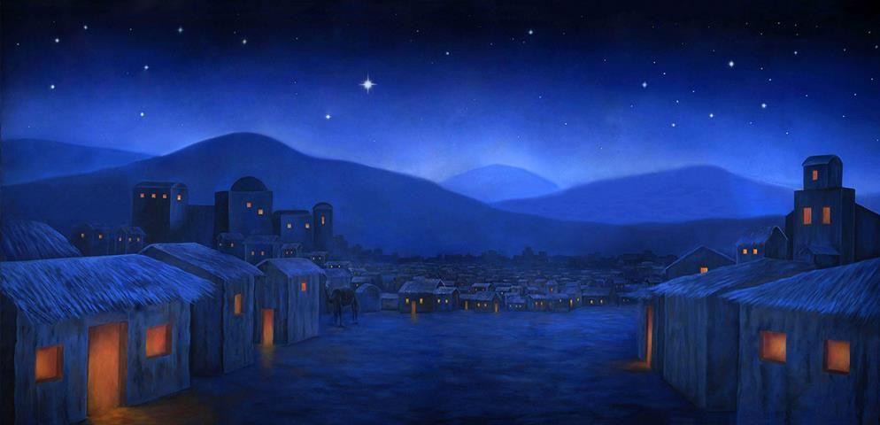 Bethlehem clipart scenery. Night professional scenic backdrop