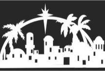 Bethlehem clipart silhouette. Cutting files svg pinterest