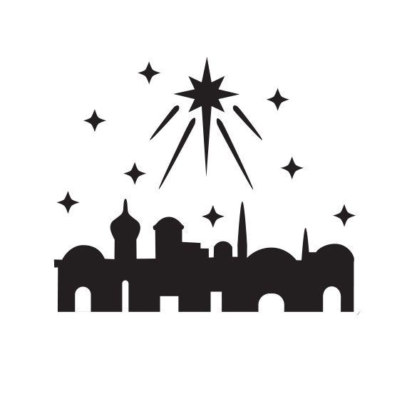 Bethlehem clipart silhouette. Image result for in