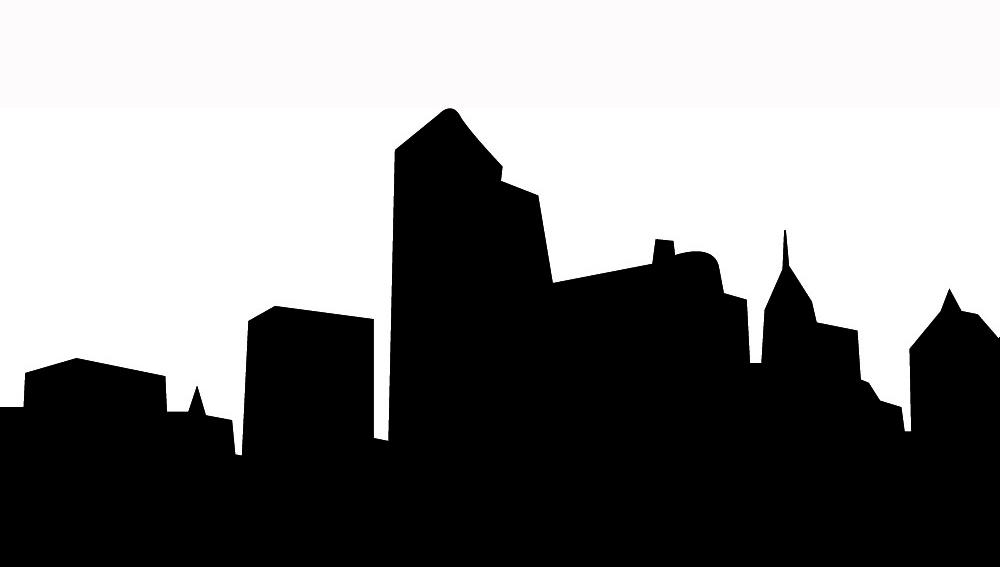 Bethlehem clipart skyline. Portland oregon silhouette at
