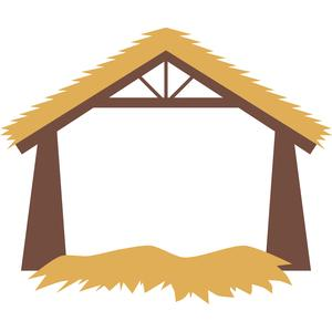 Bethlehem clipart stable. Silhouette design store view