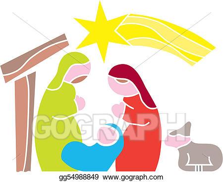 Bethlehem clipart vector. Illustration star of nativity