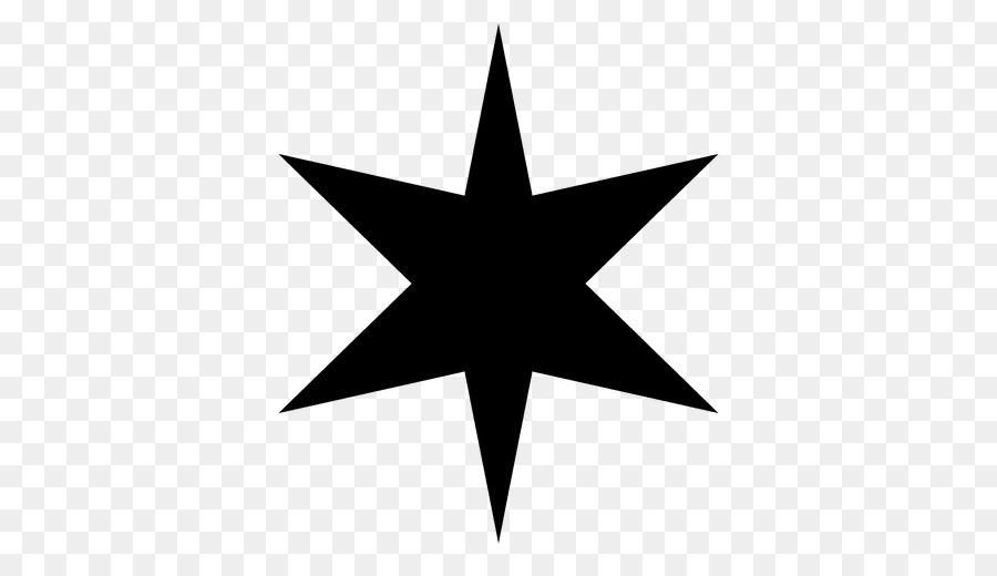 Silhouette star of clip. Bethlehem clipart vector
