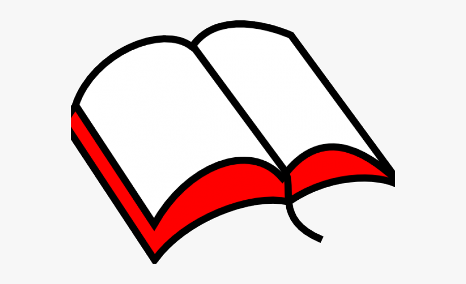 Cross and open clip. Bible clipart
