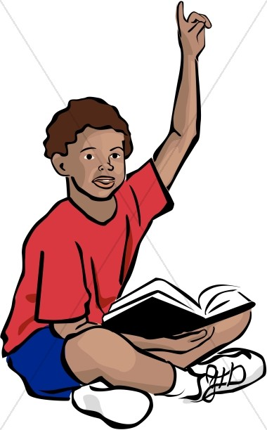 African clipart african american. Youth with bible sunday