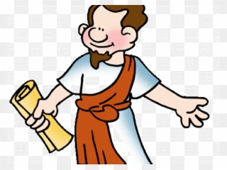 Bible clipart animated. Character gif apostle paul