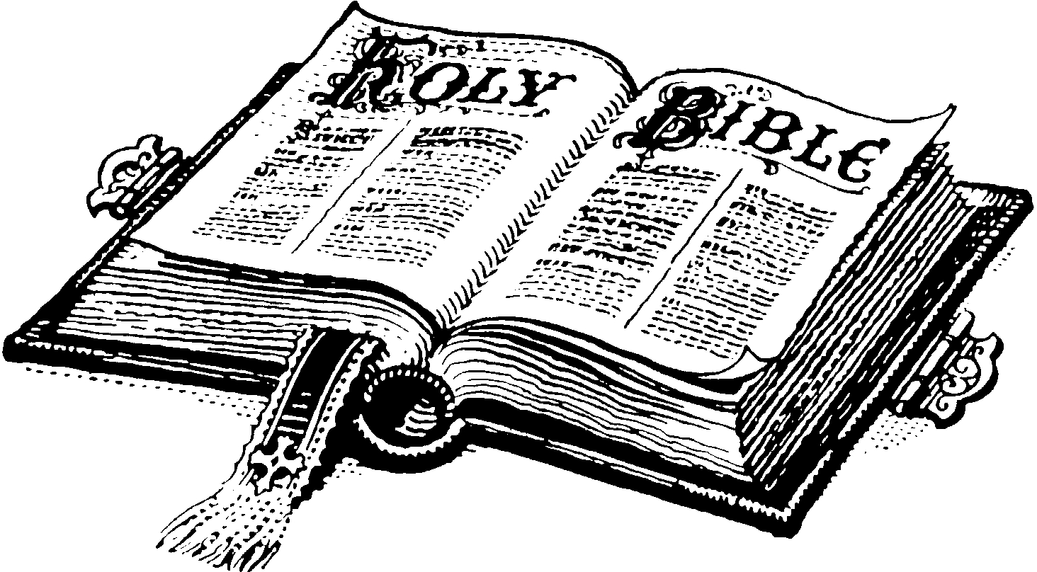 Awesome and white gallery. Black clipart bible