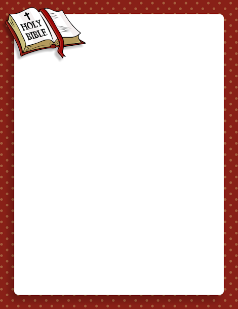 Pin by muse printables. Bible clipart borders