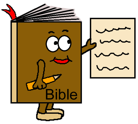 Children reading the free. Bible clipart children's