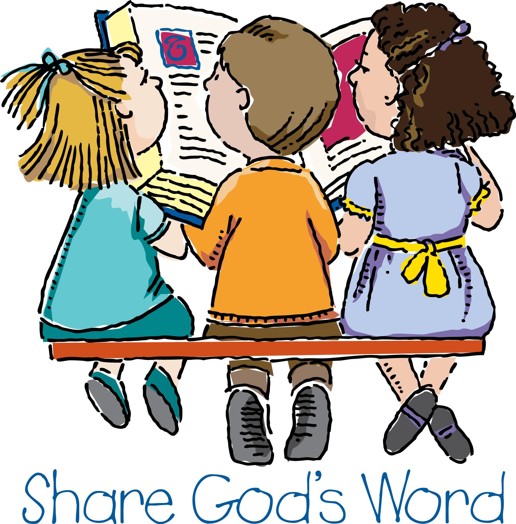 Bible clipart children's.  collection of children