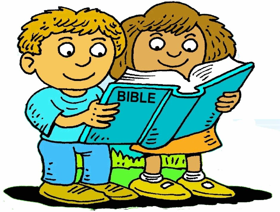 Free reading cliparts download. Bible clipart children's