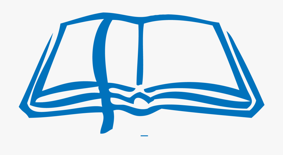 Blue clipart bible. Png free