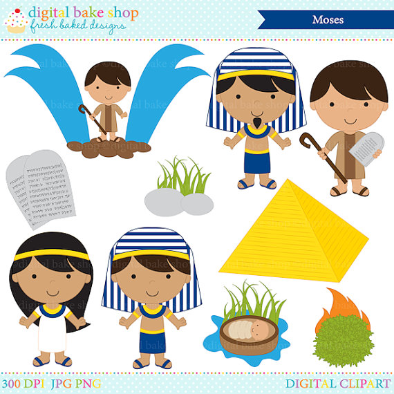Characters christian moses buy. Bible clipart clip art