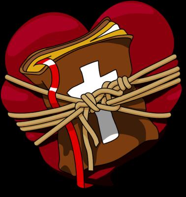 Bible clipart clip art. Image heart bound christart