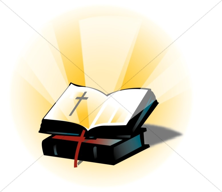 Open on a. Bible clipart closed bible