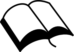 Open clip art at. Bible clipart closed bible