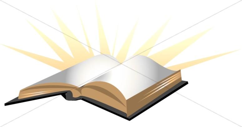 Bible clipart closed bible. Shining