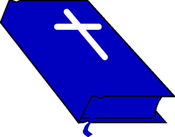 Bible clipart closed bible. Blue clip art at