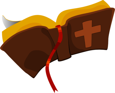Image open brown clip. Bible clipart closed bible