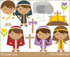 Clip art celebrations and. Bible clipart easter