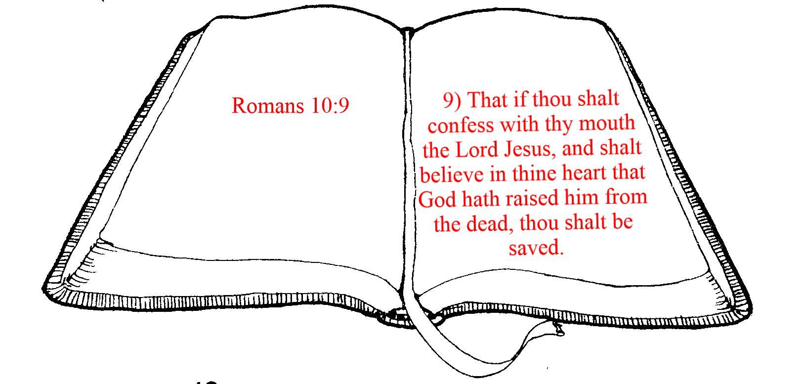 Bible clipart outline.  corinthians elk rapids