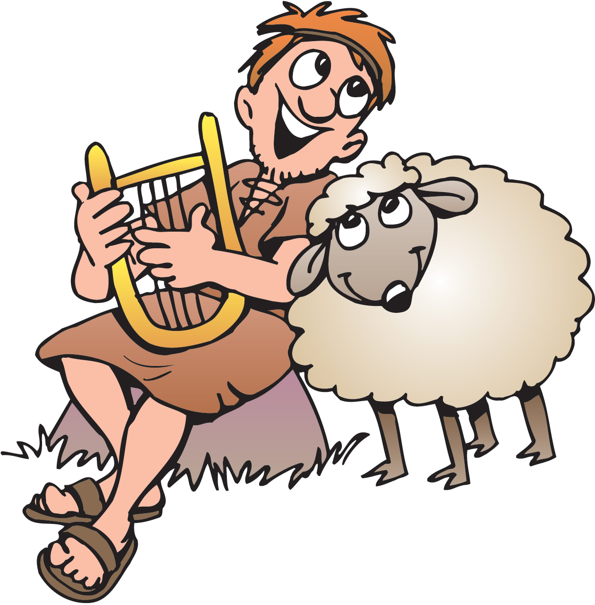 Bible clipart psalm. February daily reading with
