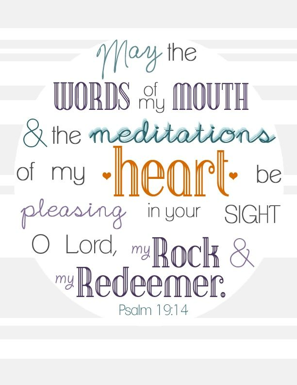 Free printable art update. Bible clipart psalm