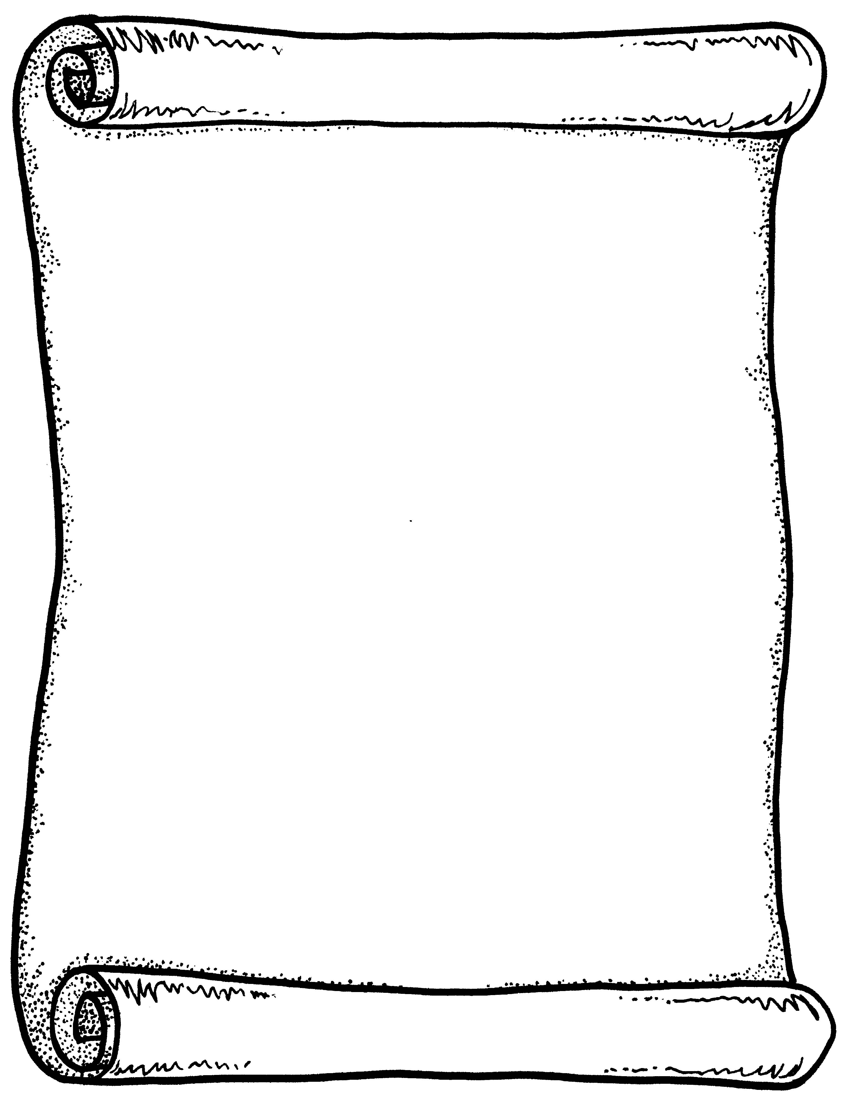 Outline template incep imagine. Certificate clipart scroll