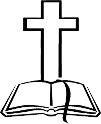 Bible clipart simple. And cross images free