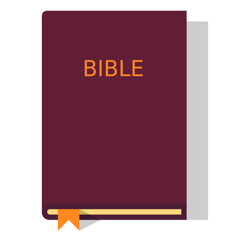 This is free image. Bible clipart simple